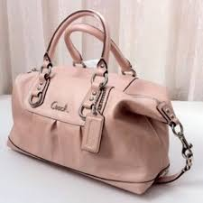 light pink coach wallet 82 off coach bags ashley leather powder pink satchel bag poshmark