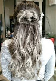 how to blend in gray hair with brown hair grey hair colors for 2017 best hair color ideas trends in 2017