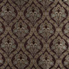 ivory upholstery fabric brown light blue gold ivory traditional brocade upholstery fabric