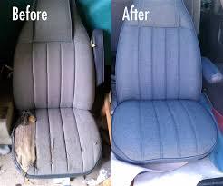 Car Seat Re Upholstery Car Upholstery Automotive Seat Repair Custom Reupholstery