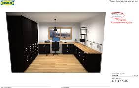 bureau de bureau de 10 m la tradition professionnelle cuisine metod ikea