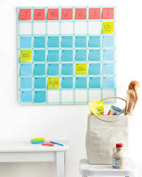 Wall Calendar Organizer System Closet Storage And Office Organizers Martha Stewart