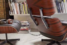 vitra eames lounge chair and ottoman classic edition