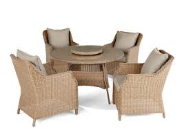 hometrends devon 6 piece dining set with lazy susan walmart ca