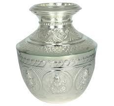 silver gift items india silver silver kalash retailer from chennai