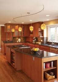 Kitchens With Track Lighting by Traditional Track Lighting Adds Style To Transitional Kitchen