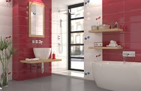 modern bathroom with ceramic tiles 3d model cgtrader