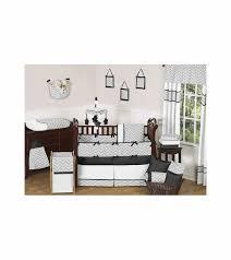 Grey Chevron Crib Bedding Set Sweet Jojo Designs Zig Zag Black U0026 Grey Chevron 9 Piece Crib