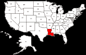 louisiana map in usa louisiana state map states i been in mount