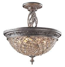 Flush Lighting Fixtures Lighting 6233 6 Renaissance Semi Flush Mount Ceiling Fixture