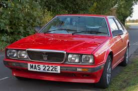 red maserati sedan maserati 222e mcgrath maserati