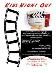 movie night flyer template free