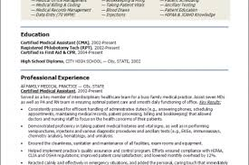 Certified Medical Assistant Resume Samples by Medical Billing And Coding Specialist Resume Resume Templates