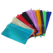 g z wholesale store giftbag large drawstring sheer organza