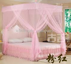 Pink Canopy Bed Pink 4 Poster Bed Design Decoration