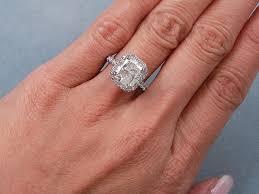 radiant cut engagement ring ctw radiant cut diamond engagement ring 3 5 carat radiant cut