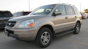 grey honda pilot 2004 honda pilot performance design of an suv medium size best