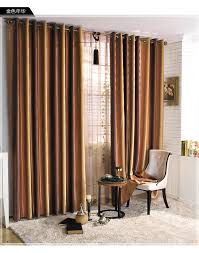 Window Curtains Sale Striped Insulated Designer Chocolate Brown Window Curtains On Sale