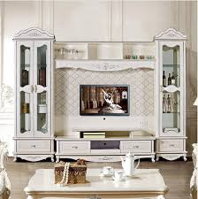 european style tv stand living room furniture assemble cabinet