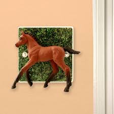horse bedroom light switch by candy queen designs