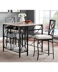 Counter Height Kitchen Island - fall sale bernards kitchen island with 2 counter height stools