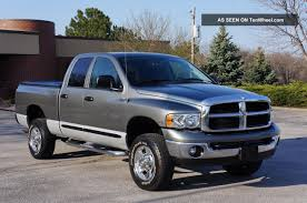 2005 dodge ram pickup 2500 information and photos zombiedrive