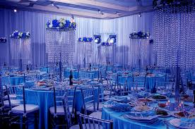 blue and white wedding reception decorations tbrb info
