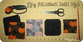 halloween bags to make a simple craft easy halloween bean bags u2013 the simple moms