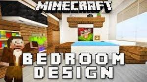 minecraft tutorial how to make a modern bedroom design modern