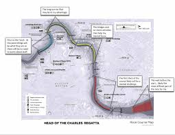Boston University Map by The Head Of The Charles Race Course Rowing Up River