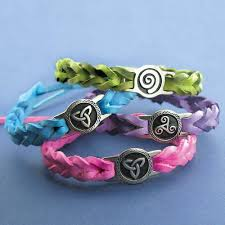 leather celtic bracelets