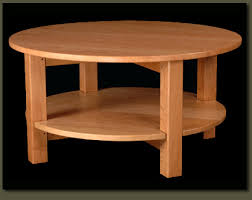 solid cherry wood end tables round coffee table with round tier shelf solid wood custom living