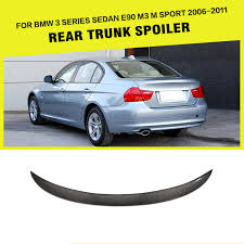 2011 bmw 335d reliability aliexpress com buy car styling carbon fiber rear wing lip