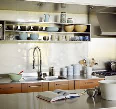 kitchen sheved sparkling kitchens with open shelving