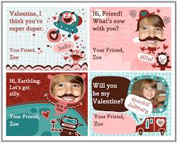 custom valentines day cards last minute free personalized valentines for kids printable
