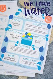 camp littles u0026 me we love water themed kids activities