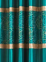 Chocolate Brown Shower Curtain Brown And Teal Curtains U2013 Teawing Co