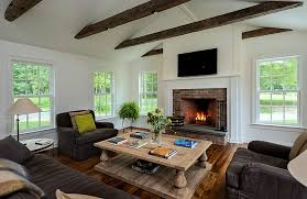 Farmhouse Sitting Room - modern farmhouse style a little bit country a little bit rock