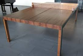 outdoor table tennis dining table ping pong dining table brian david johnson the guild of austin