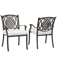 Black Metal Patio Chairs Hton Bay Metal Patio Furniture Black Outdoor Dining