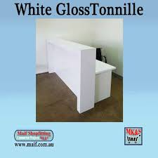 Reception Desks Sydney Reception Counter White Gloss Design A Modern Office