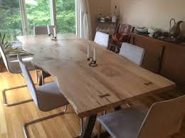 Maple Dining Room Set Live Edge Dining Table Local Spalted Hard Maple U2013 Studio 4