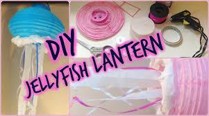 diy jellyfish lanterns youtube