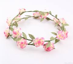 cheap garlands for weddings fashion hawaiian flower garland wedding bridal crown wreath