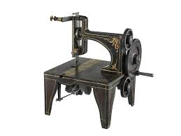 1851 singer u0027s sewing machine patent model national museum of
