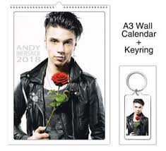 black veil andy biersack black veil brides 2018 wall calendar