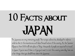 10 facts about japan culture