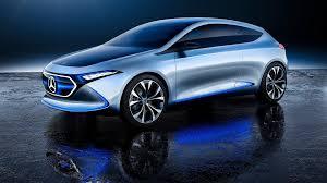 mercedes concept car mercedes reveals bmw i3 rivalling eqa concept car