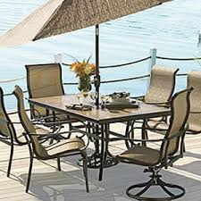 tile patio table set tile top patio table