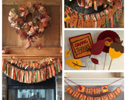 Thanksgiving Home Decorations Fall Banners Etsy